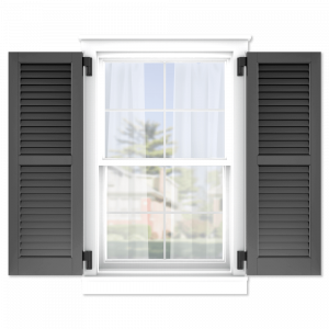 personalize your Adorned Openings 50/50 louver shutters by size, color, quantity and more