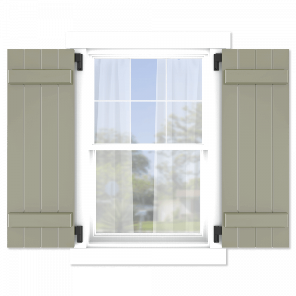 personalize your Adorned Openings board and batten shutters by size, color, quantity and more