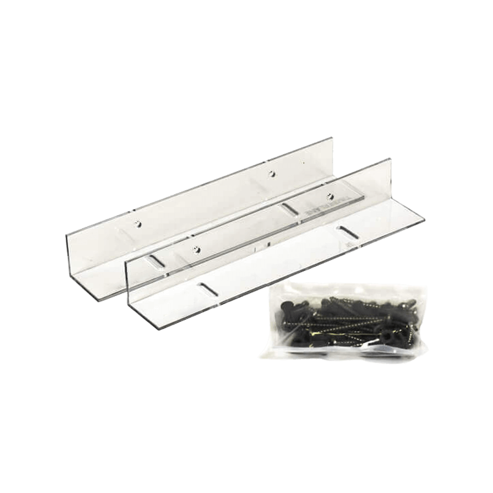 personalize your Adorned Openings shutters with clear fixed mount brackets decorative shutter hardware