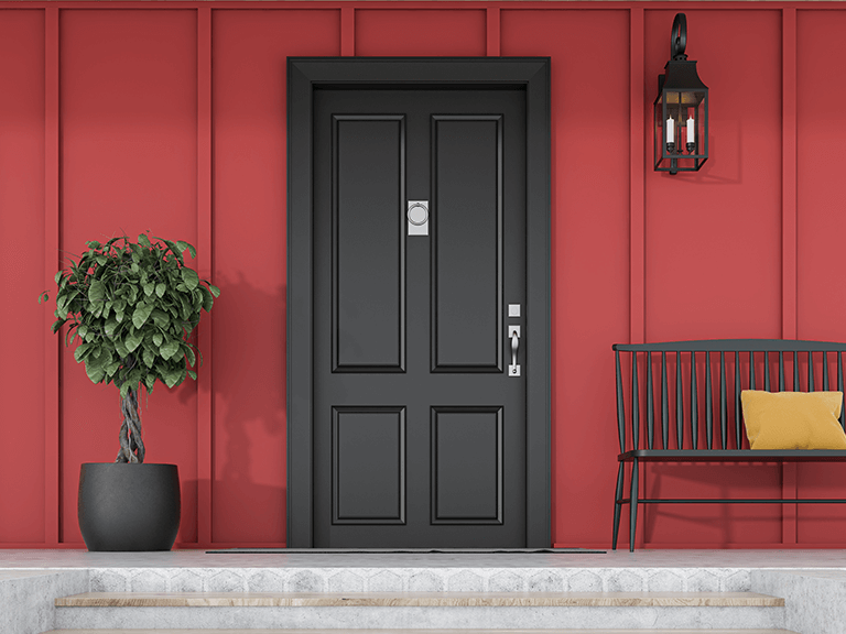 explore new colors by repainting your home's front door