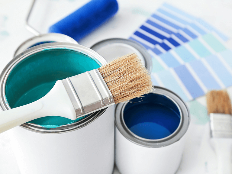 go bold or try matching the color of your home's trim when picking a shutter color