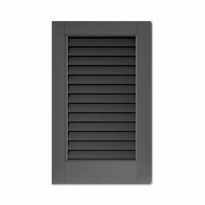 Adorned Openings offers louver window shutter samples to help find the right exterior shutters for your home