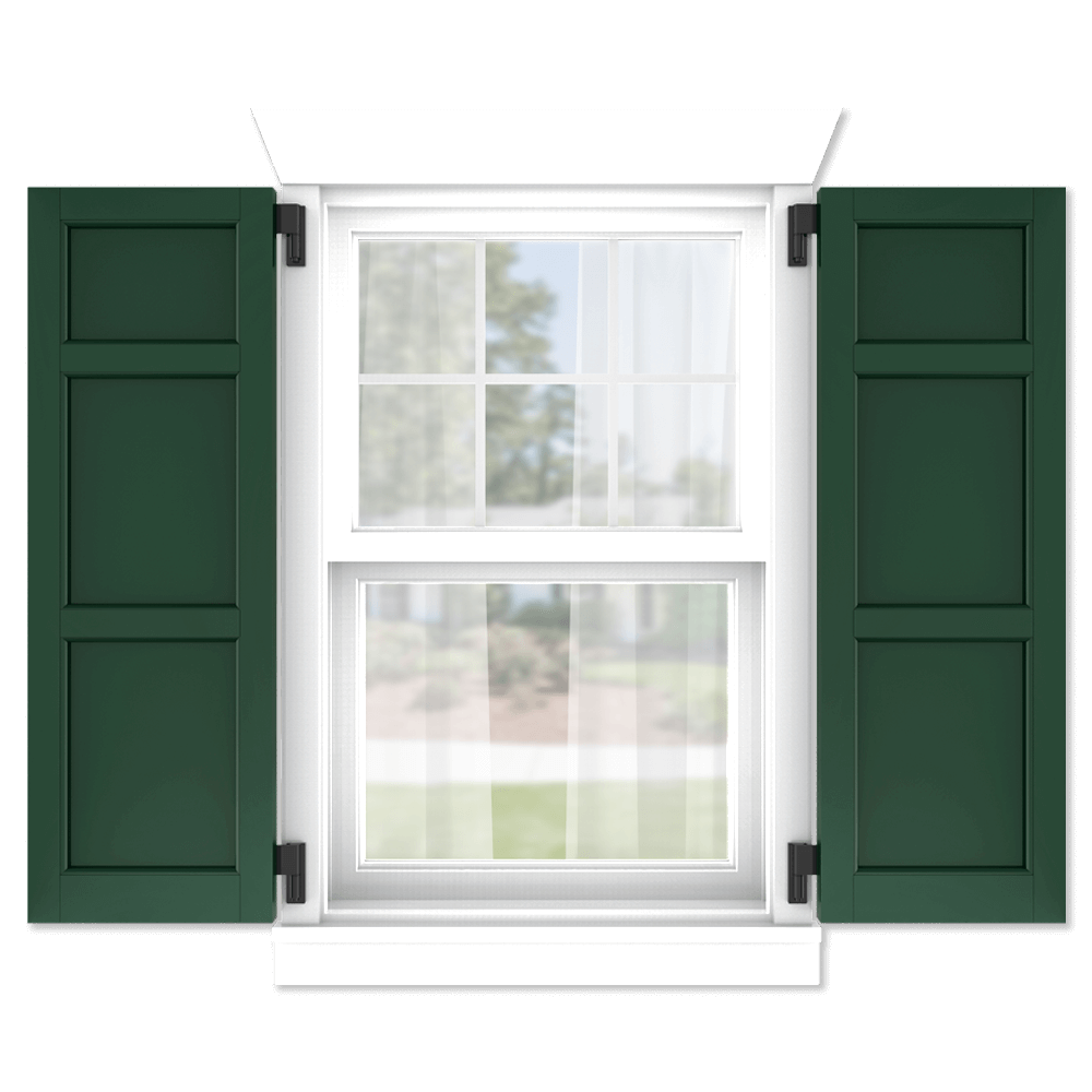 personalize your Adorned Openings 20/40/40 flat panel shutters by size, color, quantity and more.