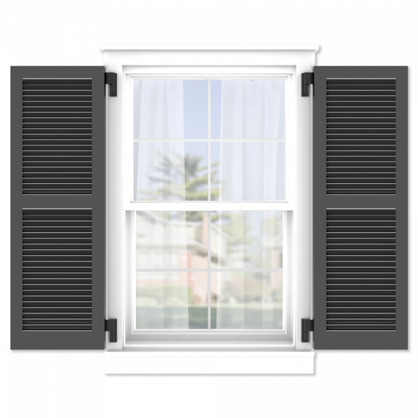 personalize your Adorned Openings 50/50 wide louver shutters by size, color, quantity and more.