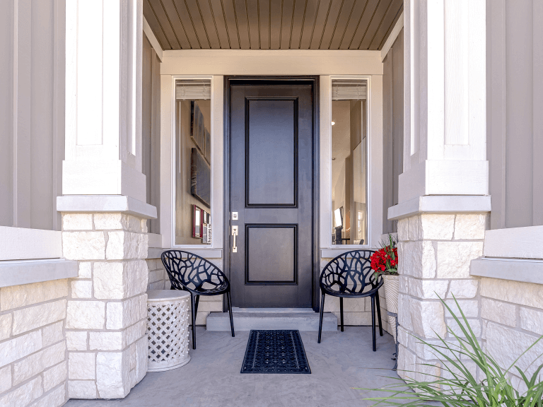 front door styling tips for elevating your home's front entryway