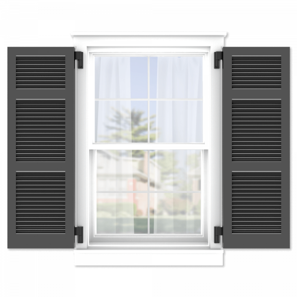 personalize your Adorned Openings 20/40/40 wide louver shutters by size, color, quantity and more.
