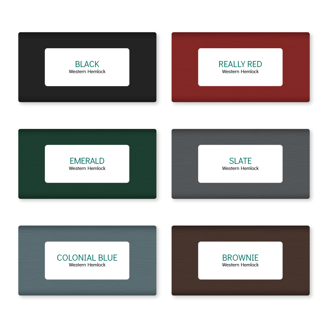 Adorned Openings offers three free shutter colors samples to choose from