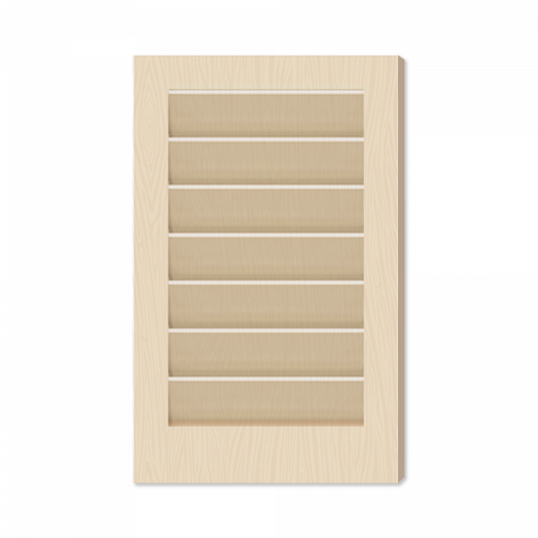 Adorned Openings offers wide louver window shutter samples to help find the right exterior shutters for your home